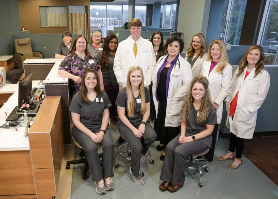 Central Georgia Cancer Care staff and team