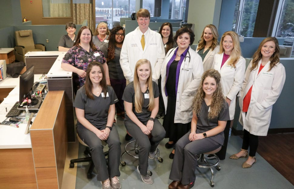 Central Georgia Cancer Care staff and team