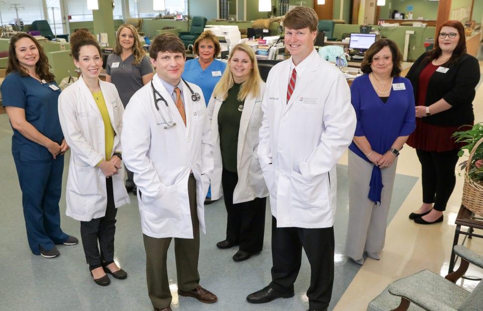 Central Georgia Cancer Care prostate team