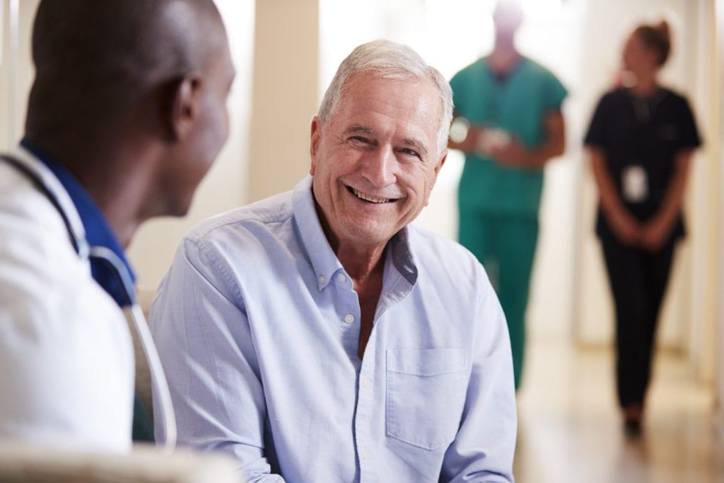 Doctor Welcoming Patient
